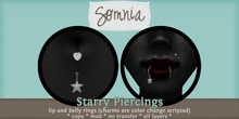 .: Somnia :. Starry Piercing Set {BOXED}