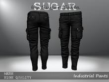 SUGAR for Men - Industrial Pants - BLACK