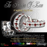 The Promise Of Love - Bride's Wedding Ring - Silver - GB