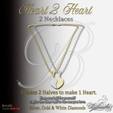Heart 2 Heart - Necklaces - Both Halves - GB