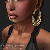 EARRING HOOP-RSM GOLD      -RYCA-