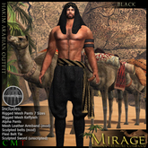 =Mirage= by KRC - Hakim - Black