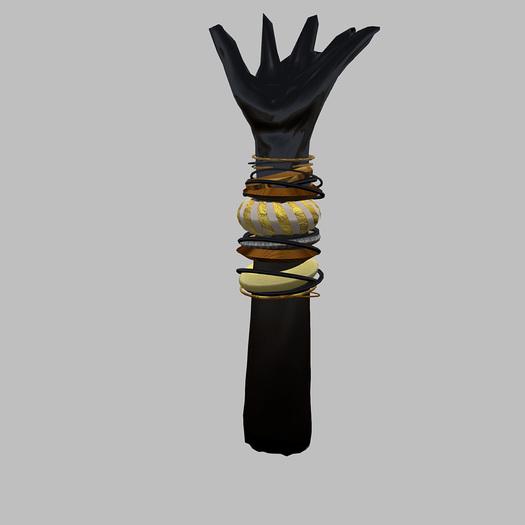bracelet quincaille or