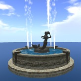 Animated Mermaid Fountain
