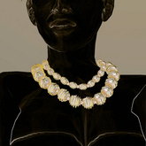 LaTopasienne- perles nacre cage 2r collier