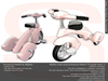 Sweet Baby - Retro Tricycle Deluxe - Bright Pink