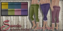 .: Somnia :. Lace Capris {Crated}