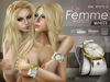 LeFemme watch [white] MUSCHI