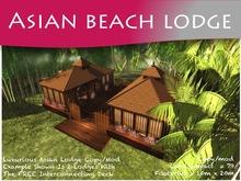 Moco Emporium -  Asian Beach Lodge (House ONLY Set) (COPY/MODIFY)