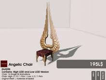 22769 ~ [bauwerk] Angelic Chair (purple)
