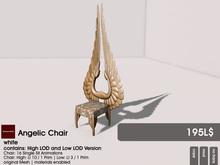 22769 ~ [bauwerk] Angelic Chair (white)