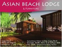 Moco Emporium -  Asian Beach House & Furniture Set