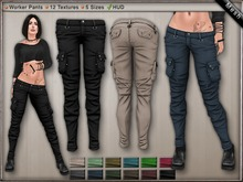 DN Mesh: Garde Pants [DEMO]