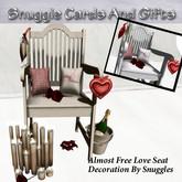 Almost Free Love /Valentine's Seat Decoration