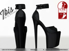 [L.Warwick] Ibis - Platform Heels - Noir