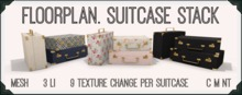 floorplan. suitcase stack [boxed]