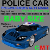 Police Car (baby size)