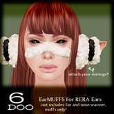 *6DOO* earmuffs HICHUCHI for rera