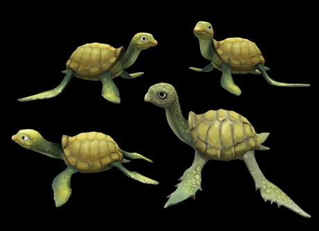Turtle Family Pack - Mesh - Full Perm