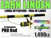 Linden Fish Hunter - PRO Rod [Fishing Extended] - Earn Linden hunting for fish