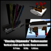 Chasing Chipmunks Rollercoaster *0.106ms* low lag smooth non-physics