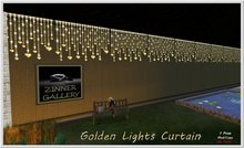 Zinner Gallery - Golden Lights Curtain