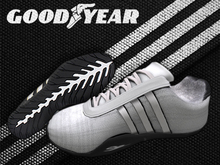 ::db:: GOODYEAR Unisex Sneakers Clear White / White