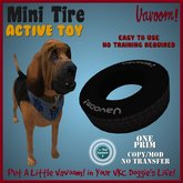 Mini_Tire *Vavoom! Active Toy* - Toys and Accessories for Virtual Kennel Club (VKC®) Dogs - No Training Required