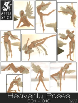 Apple Spice - Heavenly Poses 001-010 Fatpack