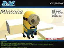 ..::P&W Despicable Minion ::.. ( Mesh )   V 1.0