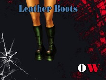 OW Leather Boots v.2