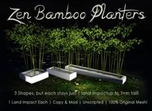 [DDD] Zen Bamboo Planters