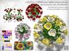LDG-FULL PERM 951 Rose Table Centerpieces/40 textures/Builderkit