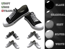 GetDressed Sneakers 01. Black and White