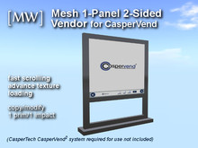 [MW] Mesh 1-impact 2-sided Stand Vendor for CasperVend (boxed)