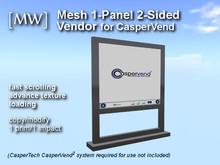 [MW] Mesh 1-Panel Stand  Vendor 152 for CasperVend (boxed)