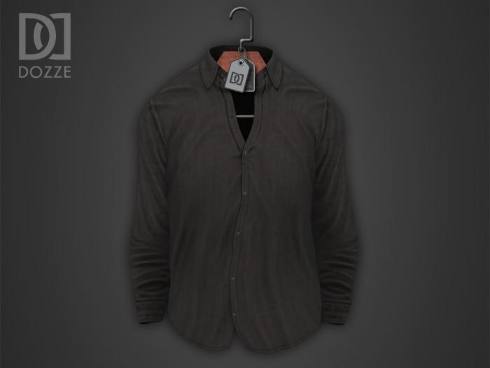 DOZZE - Untucked Shirt (Dark Grey) [Boxed]