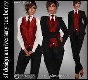 sf design anniversary tuxedo berry for women