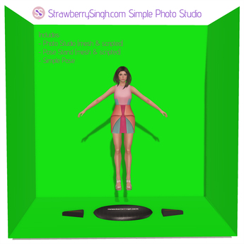 StrawberrySingh.com Simple Photo Studio