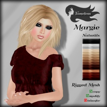 *NEW RELEASE* Tameless Hair Margie (MESH) - Naturals