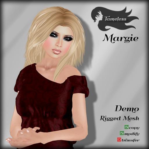 *NEW RELEASE* Tameless Hair Margie (MESH) - DEMO