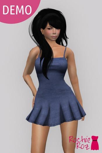 Rochie Roz - Anna Dress DEMO (Mesh)