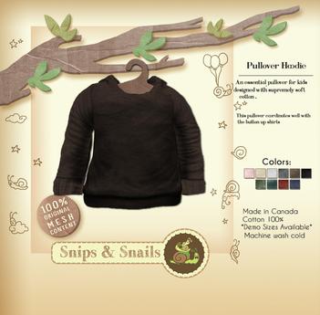 .S&S. Pullover Hoodie - Mud