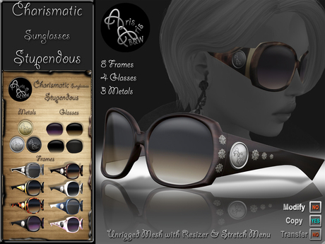 ***Arisaris AA22 Charismatic Sunglasses Stupendous