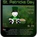 ♣♣♣  St. Patrick's Day – Leprechaun Teddy TipJar ♣♣♣