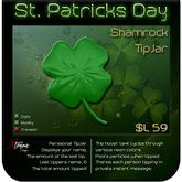 ♣♣♣  St. Patrick's Day – Shamrock TipJar  ♣♣♣