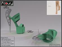AZOURY - Fetish Hight-Heeled Shoes (Mint)