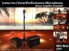 [satus Inc] Vocal Performance Microphone