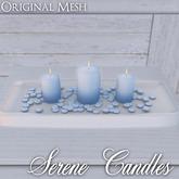::: Krystal ::: Serene Candles - Periwinkle