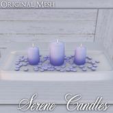 ::: Krystal ::: Serene Candles - Lilac